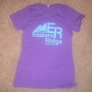CrossFit Eastern Ridge Blue and Purple Shirt
